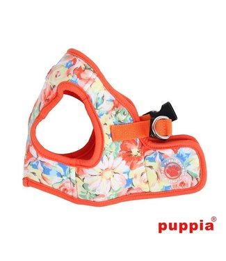 Puppia Puppia Spring Garden Harness model B orange