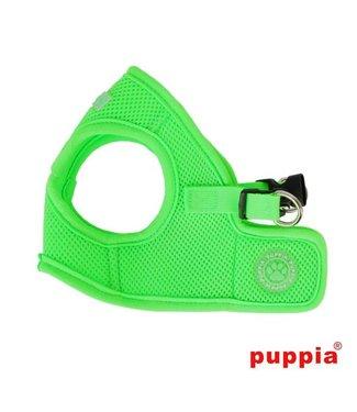 Puppia Puppia Soft Harness model B Neon green