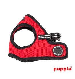 Puppia Puppia Smart Soft Harness model B Red( Alleen Medium)