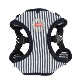 Puppia Puppia Bobby Harness model C Striped Navy