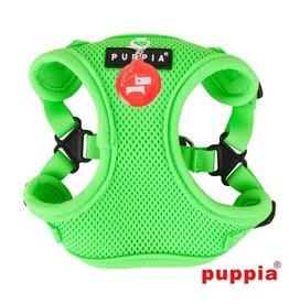 Puppia Puppia Neon Soft harness Model C Green