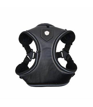Puppia Puppia Legacy Harness model C Black ( ALLEEN X-LARGE )