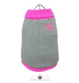 Urban Pup Urban Pup Pink Paw Sweater
