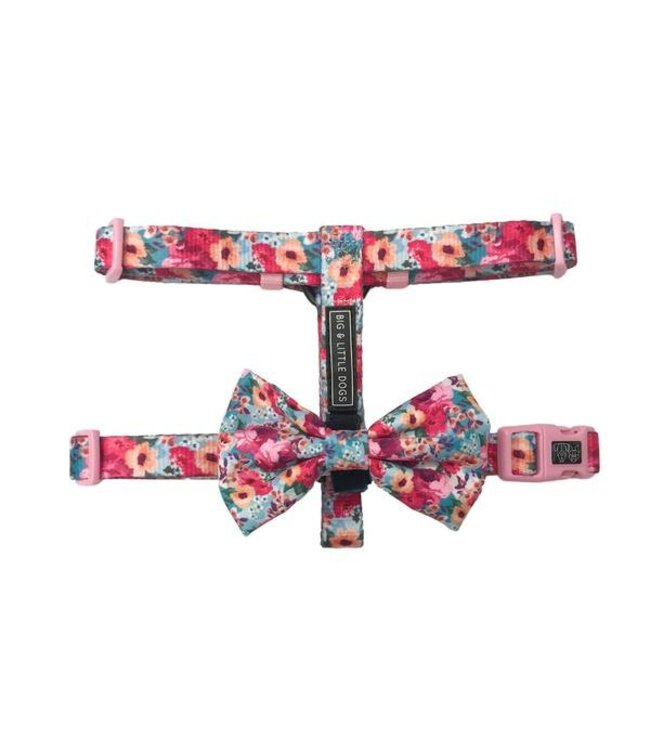 Big and Little Dogs Big and Little Dogs Strap Harness Floral Affair ( ALLEEN LARGE )