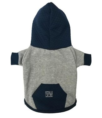 Big and Little Dogs Big and Little Dogs hoody jumper Quilted Navy