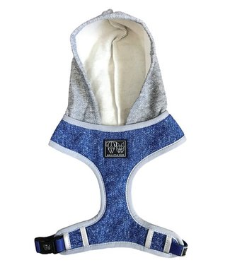 Big and Little Dogs Big and Little Dogs Hoody Harness Classic Blue