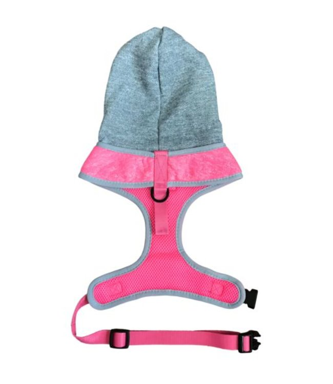 Big and Little Dogs Big and Little Dogs Hoody Harness Pink