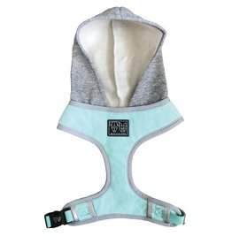 Big and Little Dogs Big and Little Dogs Hoody Harness Classic Teal