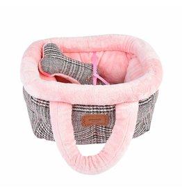 Pinkaholic Pinkaholic Da Vinci Basket Bed pink