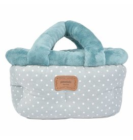 Pinkaholic Pinkaholic Desarae Basket Bed Blue Grey