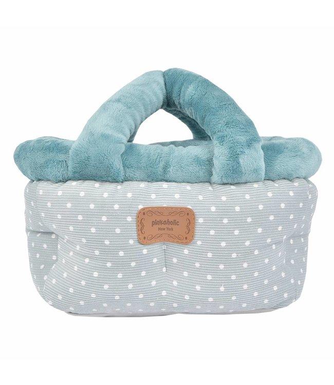 Pinkaholic Pinkaholic Desarae Basket Bed Blue Grey