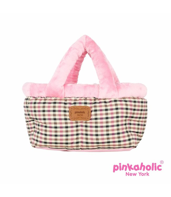 Pinkaholic Pinkaholic Victorian draagtas/autostoel Pink