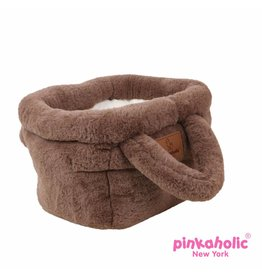 Pinkaholic Pinkaholic Hamper Basket Bed brown