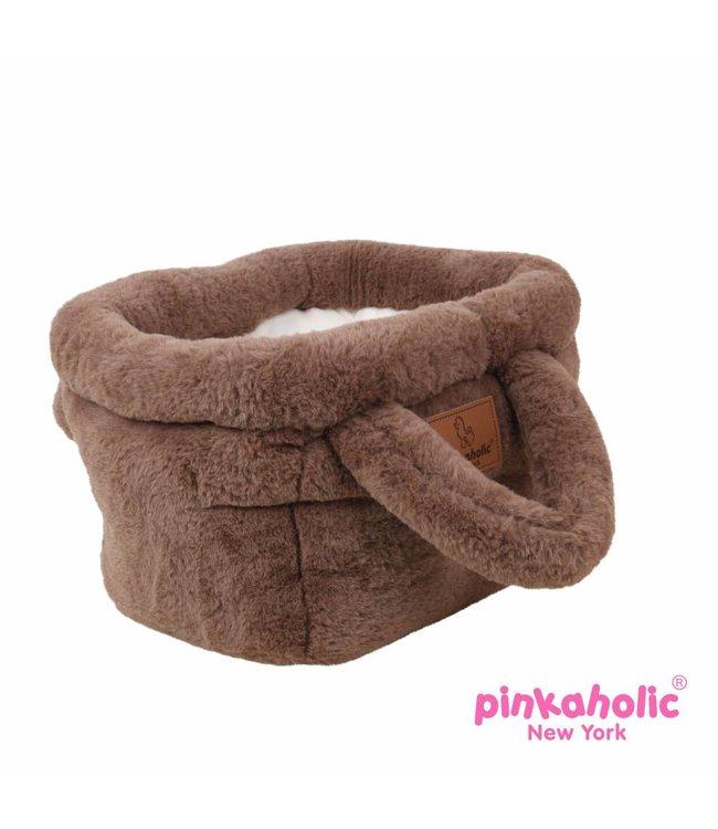 Pinkaholic Pinkaholic Hamper Basket Bed brown