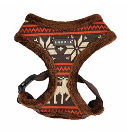 Puppia Puppia Prancer Harness model A brown