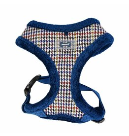 Puppia Puppia Auden Harness model A blue