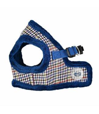 Puppia Puppia Auden Harness model B blue