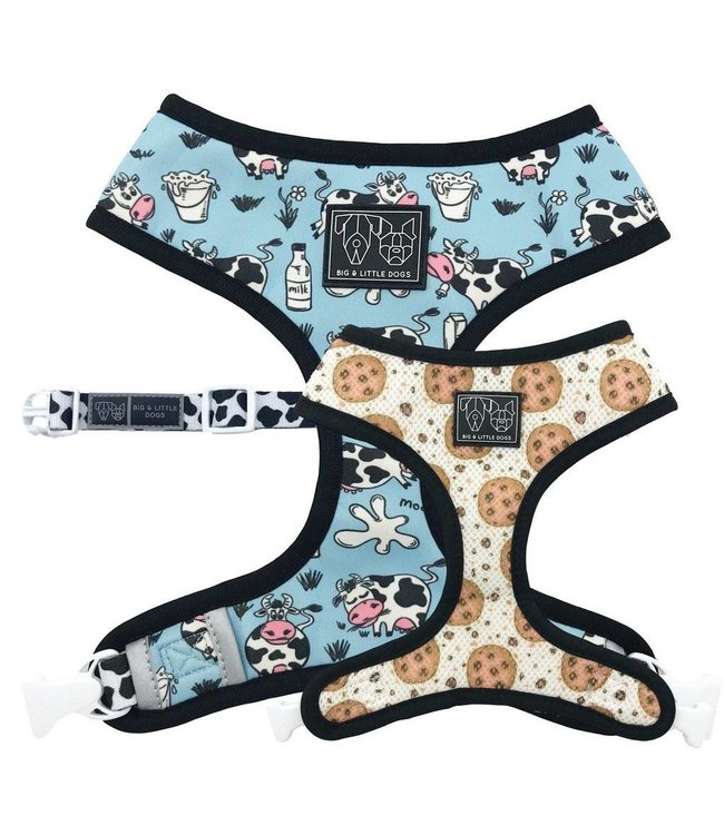 Big and Little Dogs Big and Little Dogs Reversible Milk and Coockies