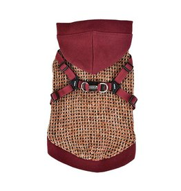 Puppia Puppia Vale Jacket Harness Burgundy