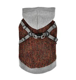 Puppia Puppia Vale Jacket Harness Melange Grey