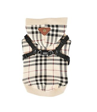 Puppia Puppia Dean Jacket Harness Beige ( ALLEEN XL )