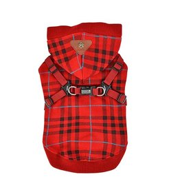 Puppia Puppia Dean Jacket Harness Wine