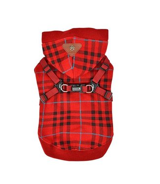 Puppia Puppia Dean Jacket Harness Wine ( ALLEEN XL )