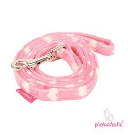 Pinkaholic Pinkaholic Dreamy dogleash pink