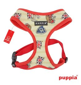 Puppia Puppia Britannia harness model A red