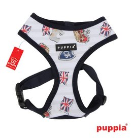 Puppia Puppia Britannia harness model A navy