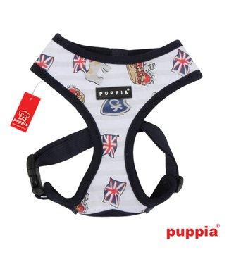 Puppia Puppia Britannia harness model A navy