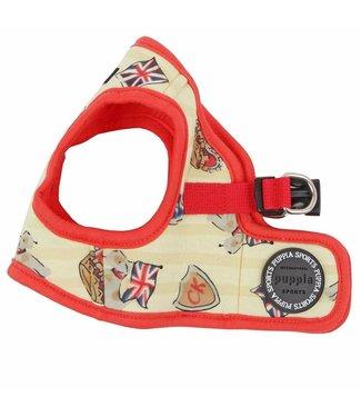 Puppia Puppia Britannia harness model B red