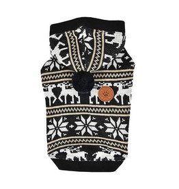 Puppia Puppia Prancer winter hoodie Black