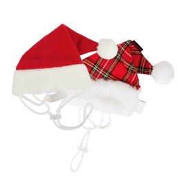 Puppia Puppia Santa's Hat Red