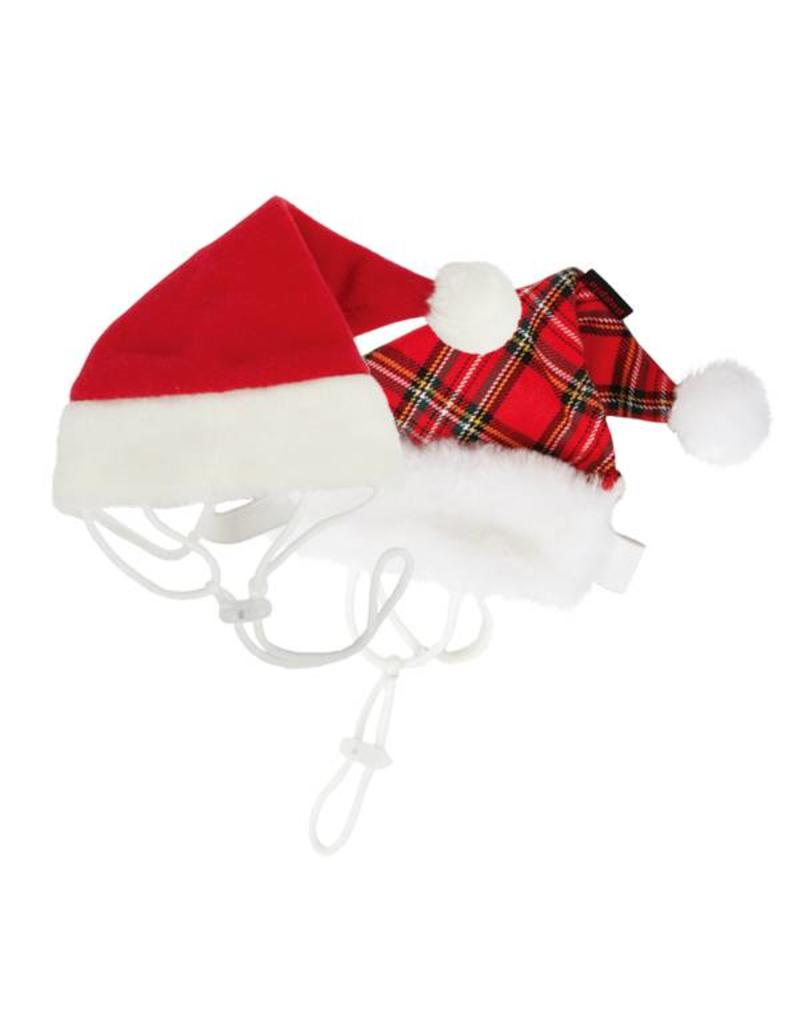 Puppia Puppia Santa's Hat Checkered Red