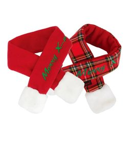 Puppia Puppia Santa's Scarf Checkered Red