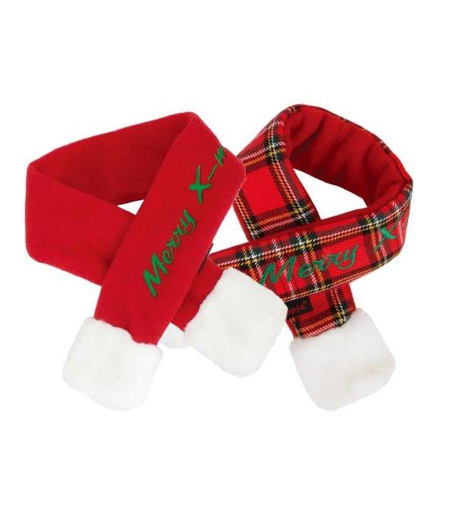 Puppia Puppia Santa's Scarf Checkered Red