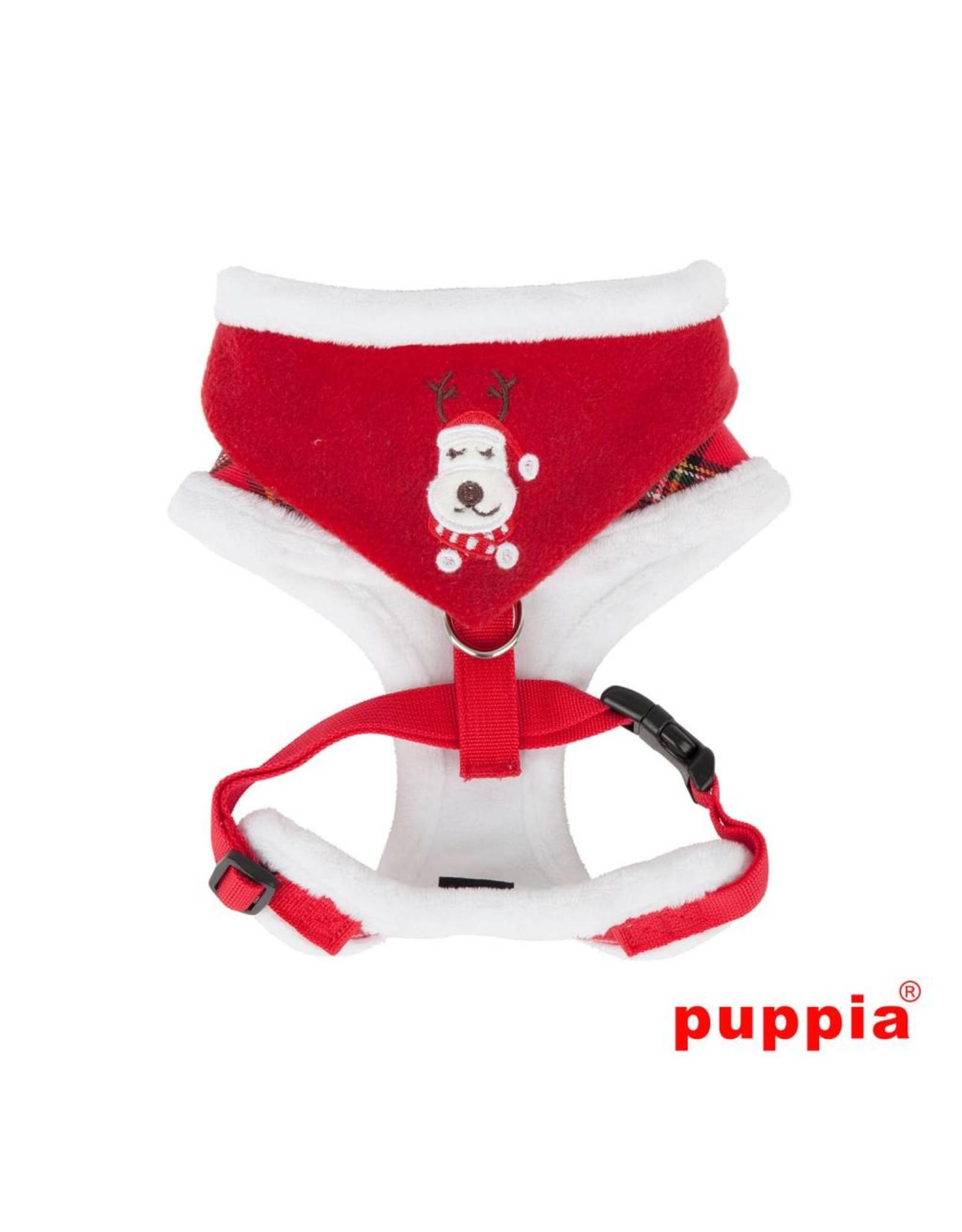 Puppia Puppia Rudolph Harness A Checkered Red