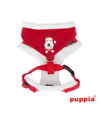 Puppia Puppia Rudolph Harness A Checkered Red