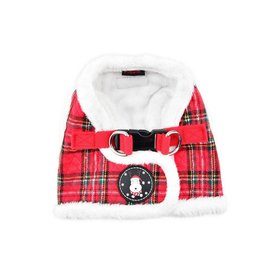Puppia Puppia Harness B Blitzen Checkered Red