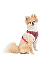 Puppia Puppia Harness A Blitzen Checkered Red