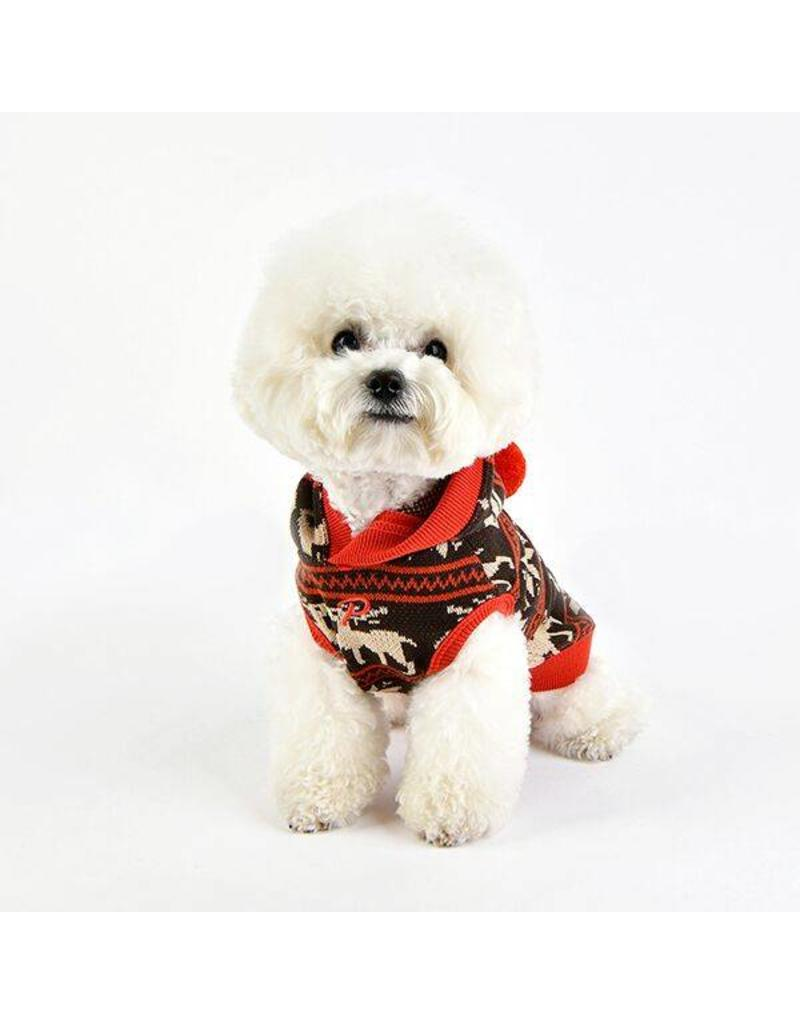 Puppia Puppia Prancer winter hoodie Brown