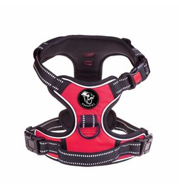 Frenkiez Frenkiez reflective no pull dog harness red