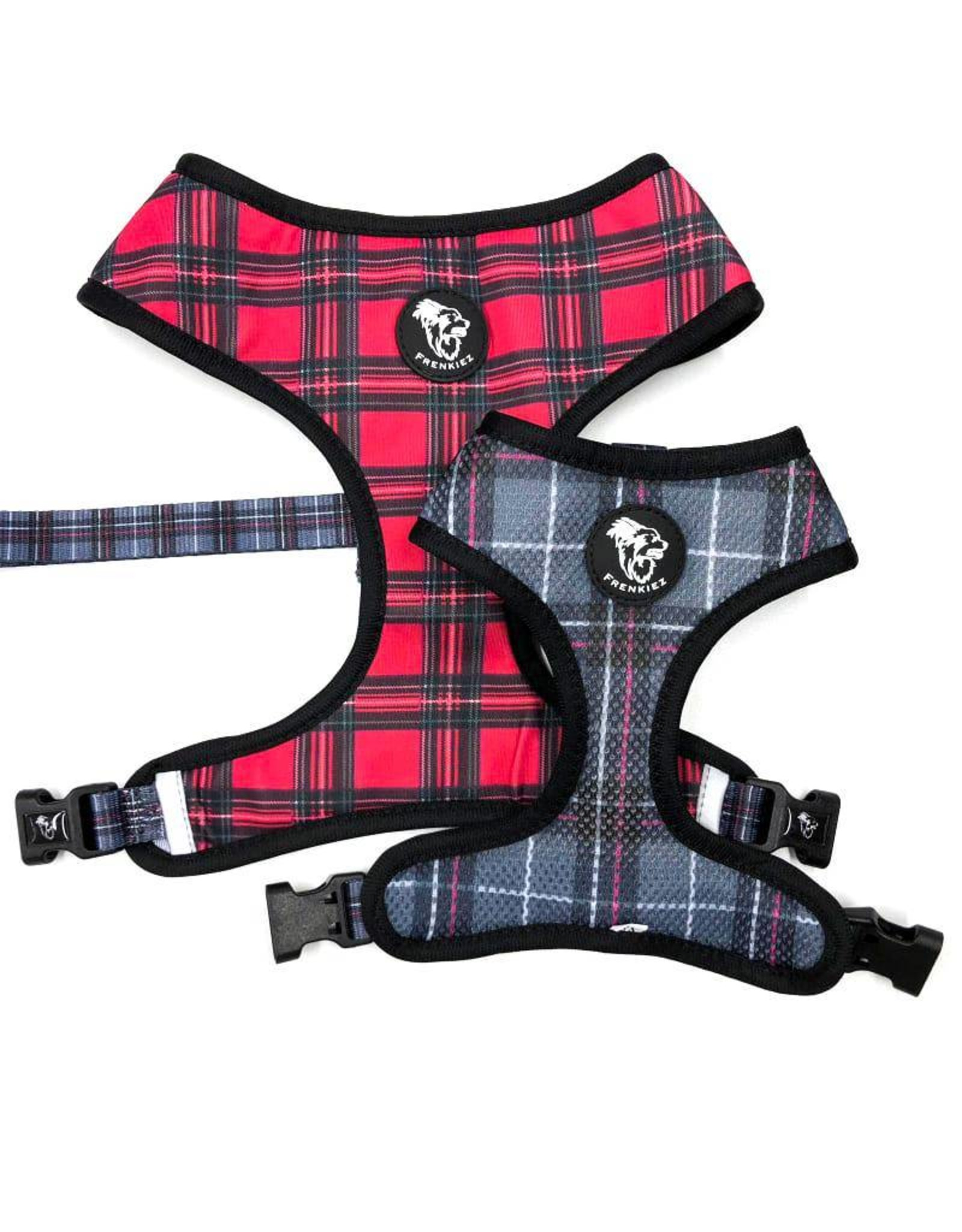 Frenkiez Frenkiez Reversible Harness BarkBerry red hondentuigje