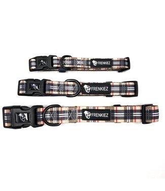 Frenkiez Frenkiez BarkBerry Beige Halsband