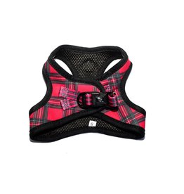 Frenkiez Frenkiez Step In Harness BarkBerry Red