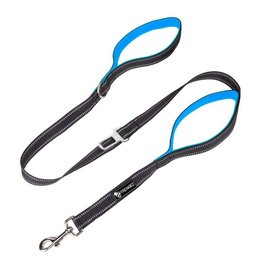 Frenkiez Frenkiez reflective dog leash blue