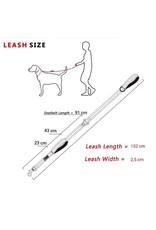 Frenkiez Frenkiez reflective dog leash black