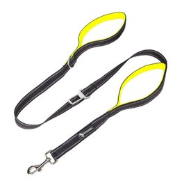 Frenkiez Frenkiez reflective dog leash yellow/green