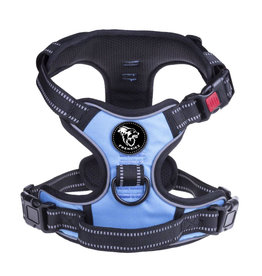 Frenkiez Frenkiez reflective no pull dog harness blue
